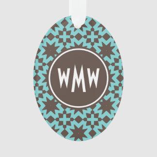 Custom Monogram Stylish Chic Decorative Pattern Ornament