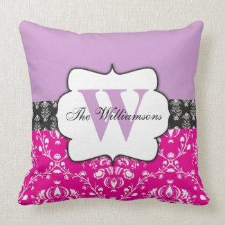 Custom Monogram Throw Pillows