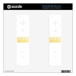 Custom Monogrammed Gifts Wii Remote Decals