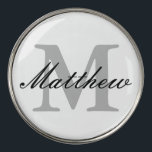 """Custom monogrammed golf ball markers 