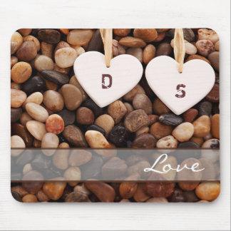 Custom Monograms Valentine's Day Gift Mousepads