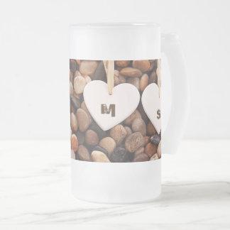 Custom Monograms Valentine's Day Gift Mugs