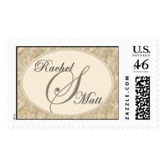 Custom Monongram Stamps