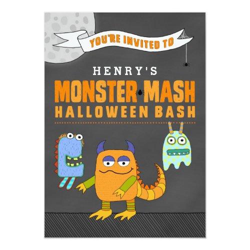 Custom Halloween Bash Invitations