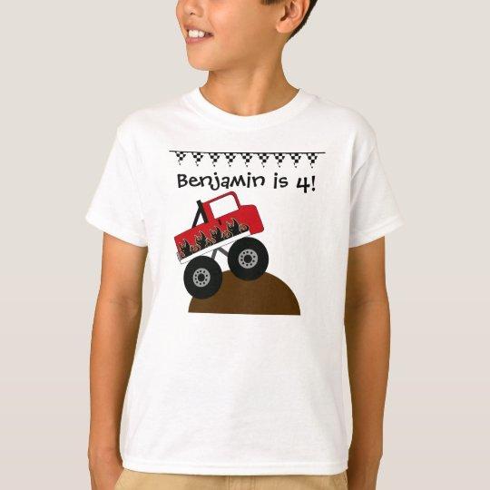 Custom Monster Truck T-shirt