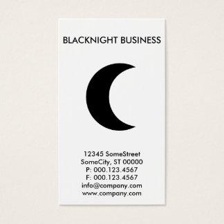custom moon company business card