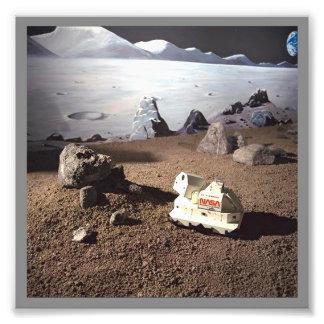 CUSTOM MOON LANDSCAPE - NASA SPACE MISSION Photo