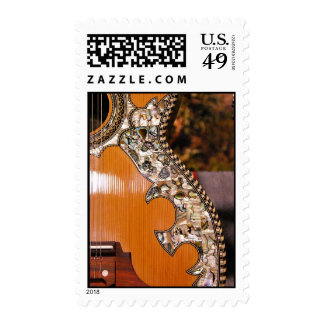 Custom MOP Inlay Acoustic Guitar Postage