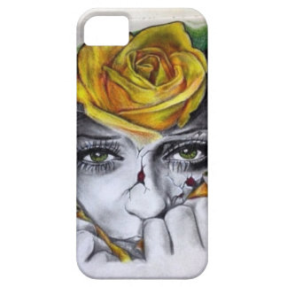 Custom mother nature artwork by Terrence Fields iPhone SE/5/5s Case