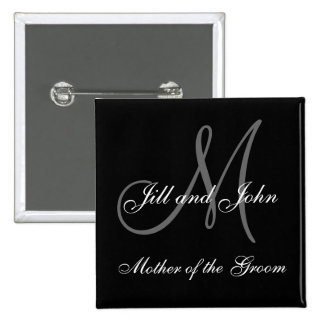 Custom Mother of the Groom Wedding Party Buttons