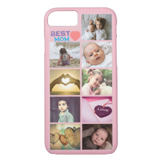 Custom mothers day best mom photo iPhone 7 case