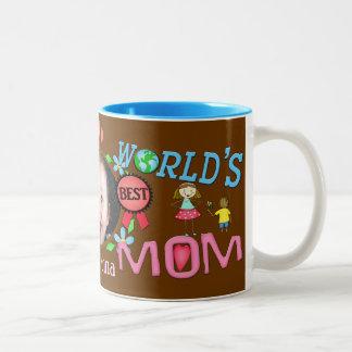 Custom Mother's Day Best Mom Photo Mug