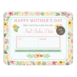 Custom Mother's Day Gift Coupon by Origami Prints Card