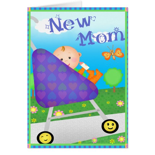 Custom Mother's Day New Mom Card