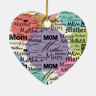 Custom Mothers Day Ornament Mother Mom