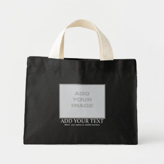 Custom Motivational / Demotivational Mini Tote Bag