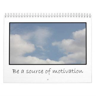 Custom Motivational Volunteer Calendar