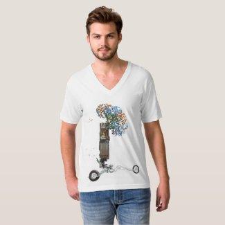 Custom Motorcycle Motorhome Tee Shirt