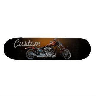 Custom Motorcycle Skateboard Deck