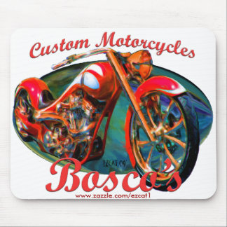 Custom Motorcycles Mouse Pad