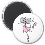 Custom Mouse Ballerina Magnet Fridge Magnet