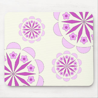 Custom Mousepad with Pattern on Ivory