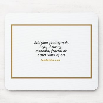 Custom Mousepad With Your Artwork by Casefashion at Zazzle