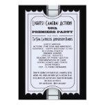 CUSTOM Movie Party Program Admission Ticket Card