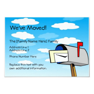 Custom Moving Announcements