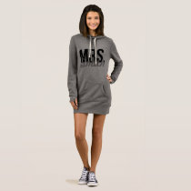 Custom Mrs. Hoodie Dress