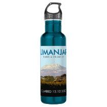 Custom Mt Kilimanjaro Climb Commemorative Stainless Steel Water Bottle