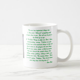 Custom Mug - the best things in life are Free