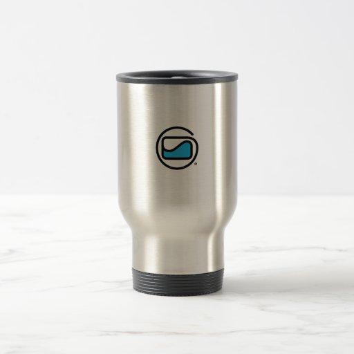 Custom Mug with Flow-Cal symbol