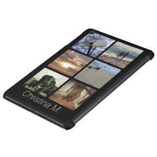 Custom Multi Photo Mosaic Picture Collage iPad Mini Covers