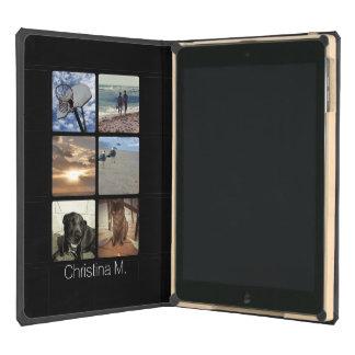 Custom Multi Photo Mosaic Picture Collage iPad Air Case