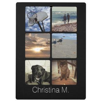 Custom Multi Photo Mosaic Picture Collage Clipboard