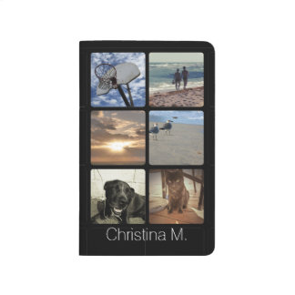 Custom Multi Photo Mosaic Picture Collage Journal