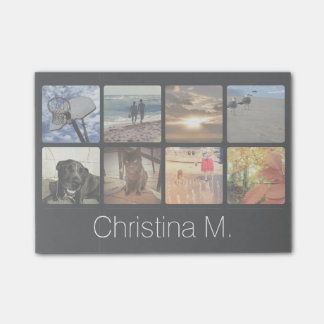 Custom Multi Photo Mosaic Picture Collage Post-it® Notes