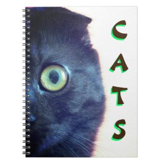Custom Munchkin Cat Notebook