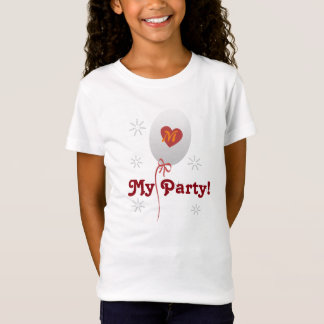 Custom My Party Balloon T T-Shirt