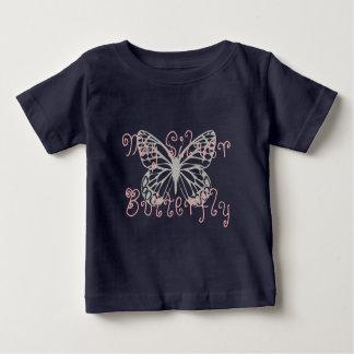Custom My Silver Butterfly Dark T-shirt