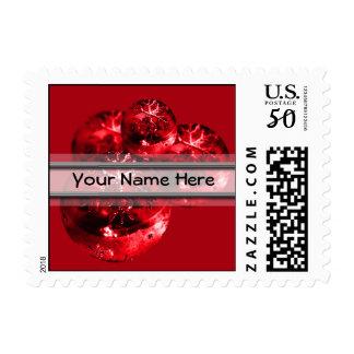 Custom Name 2017 Holiday Cards Stamp USPS