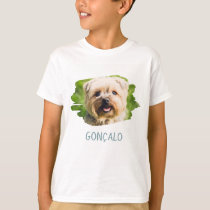 Custom Name Add Photo Create Your Own Vert Picture T-Shirt