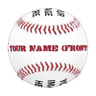 Custom Name and 4 Custom Pictures A03 Baseball