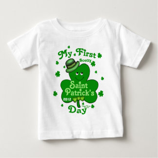 Custom Name Baby Boy's First St. Patrick's Day Infant T-shirt