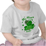 Custom Name Baby Boy's First St. Patrick's Day T-shirt