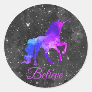 Galaxy Unicorn Stickers Zazzle