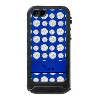 Custom name blue volleyballs blue stripe incipio ATLAS ID™ iPhone 5 case