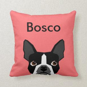 pillow throw decorative in pillows boston x the terrier blues p
