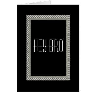 CUSTOM NAME Brother Groomsman Wedding Invitation Greeting Card